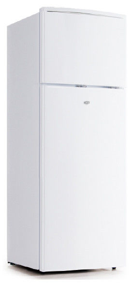 220V-240V/50Hz Manual Defrost Two Doors Fast Cooling Low Power Refrigerator 225L Capacity CB Certificated
