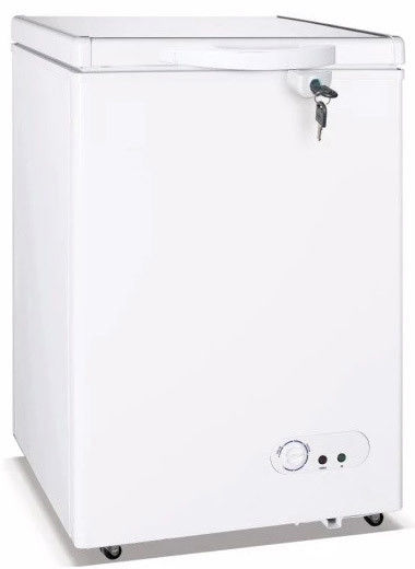 150L Commercial Chiller,Chest Freezer With Top Open One Solid Door And Lock